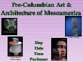Library Instruction for Precolumbian Art from Mesoamerica