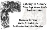 Library to Library: Sharing America...