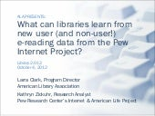 What can libraries learn from new u...