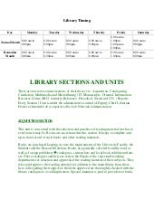 Punjab University Library Case Study