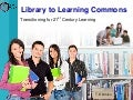 Library to learning commons ocsb
