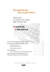 """Licencias Creative Commons"""