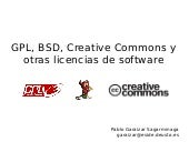Licencias de Software, CC Day Euska...