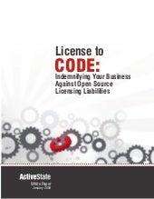 License to Code: Indemnifying Your ...