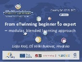 eTwinning blended learning - best p...