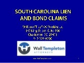 Mechanic's Liens and Surety Bonds i...