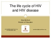 Life Cycle of HIV PLUS January 2013