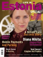Life in Estonia (Spring 2013 issue)