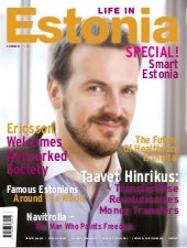 Life in Estonia (Summer 2013 issue)