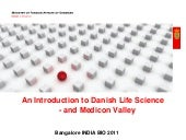 Medicon Valley and Life science clu...