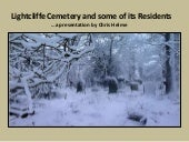 Lightcliffe Cemetery and some of it...