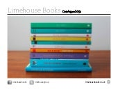 Limehouse Books Catalogue 2013