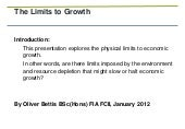 Limits to growth jan 2012   part 1