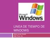 Linea De Tiempo De Windows