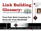 Link Building Glossary: Boost PageR...