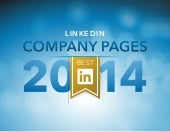 Best LinkedIn Company Pages in 2014