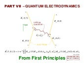 Part V - Quantum Electrodynamics v1.0