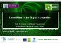 Linked data in the digital humanities  skills workshop for realising the opportunities of the digital humanities 2012.10.25