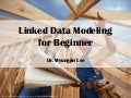 Linked Data Modeling for Beginner