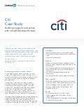 Citi Case Study: Engaged Communities