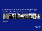 Linked In Communication In The Digi...