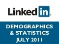 LinkedIn Demographics & Statistics - July 2011