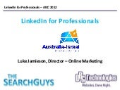 LinkedIn For Professionals