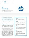 HP Case Study: Building Emotional Connections