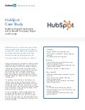 Hubspot Case Study: Company Pages & Groups