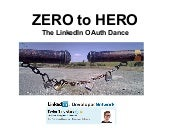 LinkedIn OAuth: Zero To Hero