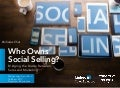 Who Owns Social Selling? Bridging the Divide Between Sales & Marketing