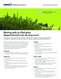 OppenheimerFunds Case Study: Moving Early on iPad Gives OppenheimerFunds Winning Touch