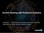 Growth Hacking with Predictive Analytics