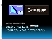 Linked In & Social Media 28 April