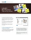 LinkedIn Best Practices: Targeted Status Updates