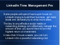 Become A LinkedIn Time Management Pro