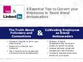 4 Tips to Convert Your Employees to Talent Brand Ambassadors