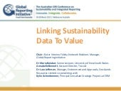 @GRIAusConf_Linking Sustainability ...