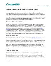 Links in email: how to code and phr...