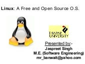 Linux a free and open source operat...