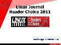 Linux Journal Reader Choice 2011