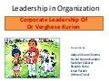 Leadership in Organizations - Amul (Case Study)