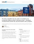LinkedIn Case Study: Queen's School of Business Uses LinkedIn To Engage Prospective Students
