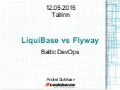 Liquibase & Flyway @ Baltic DevOps
