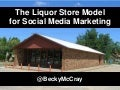 The Liquor Store Model for Social Media Marketing - Becky McCray