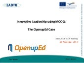 Lisbon icde-scop-the openup ed case...