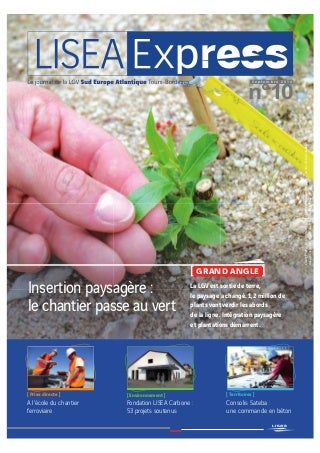 Lisea Express - n°10 - Sept. 2014