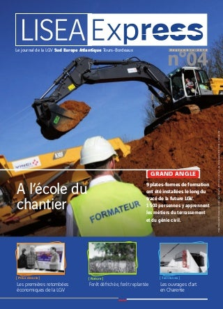 Lisea Express - n°4 - Sept. 2012