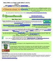 List of Organic Seed Sellers and Ex...