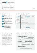 Europe Pharmaceutical Industry | Talent Pool Report 2014